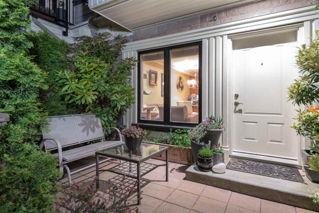 102 1135 BARCLAY STREET - West End VW Townhouse for sale, 2 Bedrooms (R2168657) #1